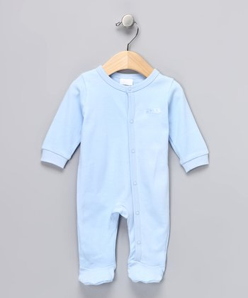 Blue Footie - Infant