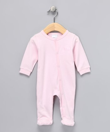 Pink Footie - Infant