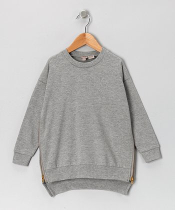 Gray Sweatshirt - Girls