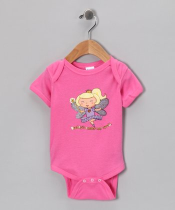 Raspberry 'Daddy's Under My Spell' Bodysuit - Infant