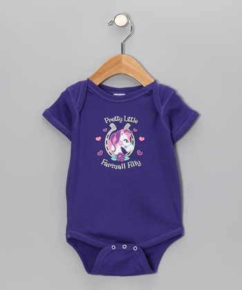 Purple 'Farmall Filly' Bodysuit - Infant