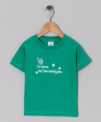 Kelly Green 'Raised by Elves' Tee - Infant, Toddler & Kids