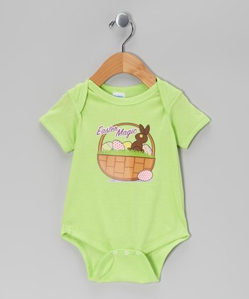 Airwaves Key Lime 'Easter Magic' Bodysuit - Infant