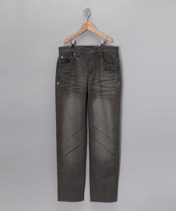 Gray Wash Botswana Jeans - Toddler & Boys