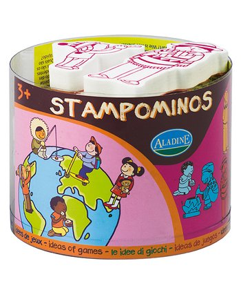 Children of the World Stampominos Set