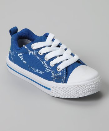 Blue Monique I Matter Sneaker
