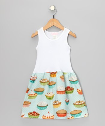 Light Blue Dessert Time Dress - Infant & Toddler