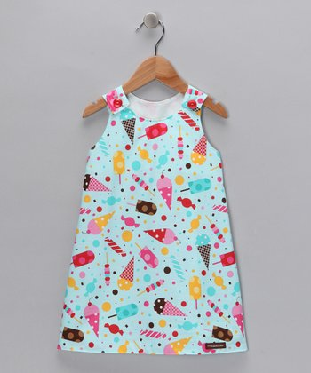 Turquoise It's My Party Dress - Infant & Toddler
