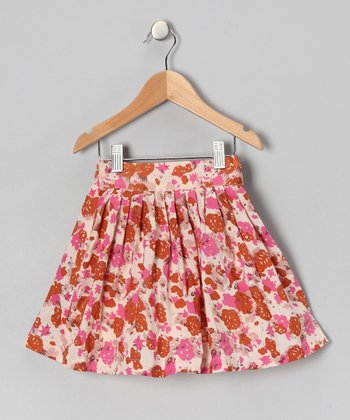 Berry Chic Blossom Twirl Skirt - Infant & Toddler