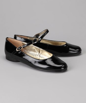 A Line Black Patent Mary Jane