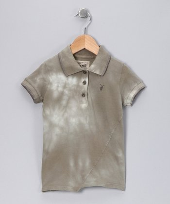 Grain Twist Spray Polo - Toddler & Kids