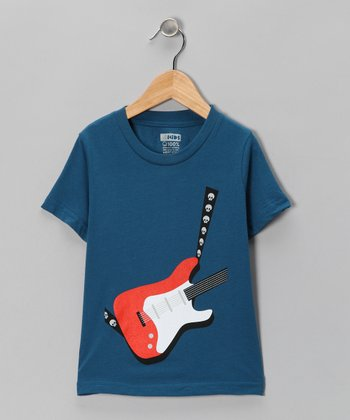 Galaxy Electric Guitar Organic Tee - Toddler & Kids