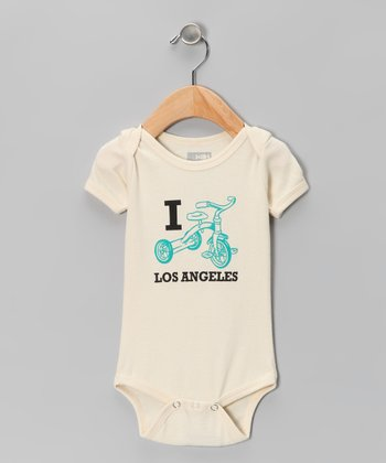 Natural Trike Los Angeles Organic Short-Sleeve Bodysuit - Infant