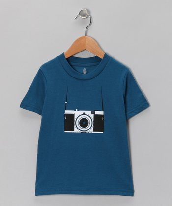 Galaxy Vintage Tourist Organic Short-Sleeve Tee - Toddler & Boys