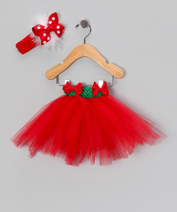 Red Tutu Set - Infant, Toddler & Girls