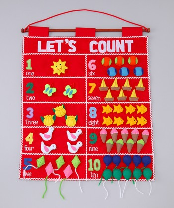 Let's Count Wall Chart