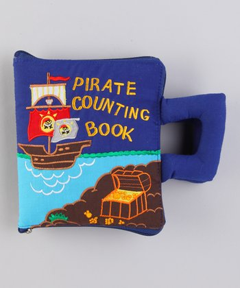 Pirate Counting Plush Book Bag