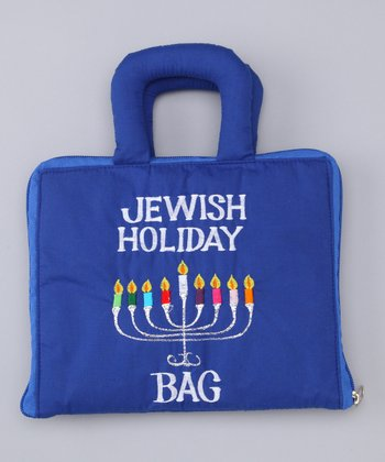 'Jewish Holiday' Plush Book Bag