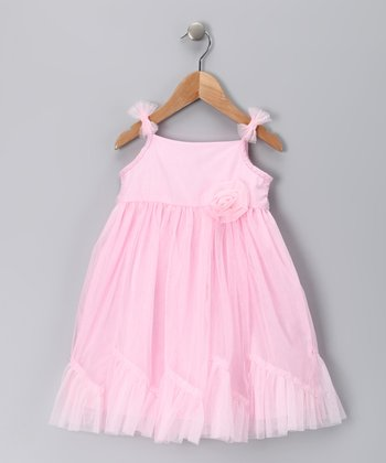 Pink Princess Caprice Dress - Girls