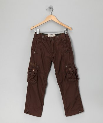 Teak Akron Cargo Pants - Toddler & Boys