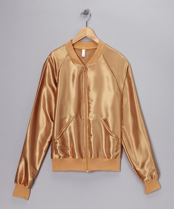Blonde Caramel	Satin Charmeuse Jacket