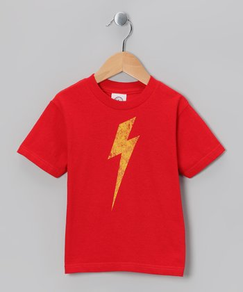 Red Bolt Tee - Toddler & Kids