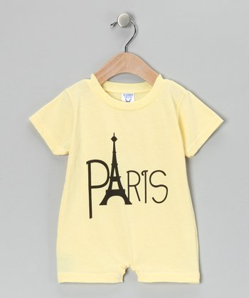 Banana 'Paris' Romper - Infant