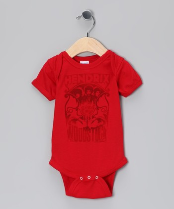 Red Woodstock Bodysuit - Infant