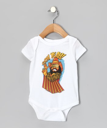 "White 'Ooh Yeah!"" Bodysuit - Infant"