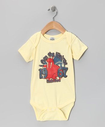 Banana 'I Am the Walrus' Bodysuit - Infant