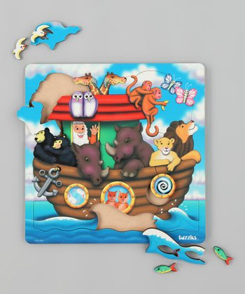 American Educational Products Noah's Ark Wooden Puzzle
