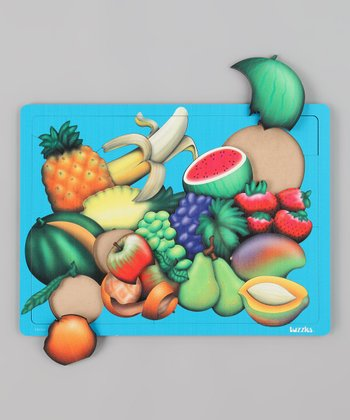 American Educational Products Advanced Fruit Wooden Puzzle