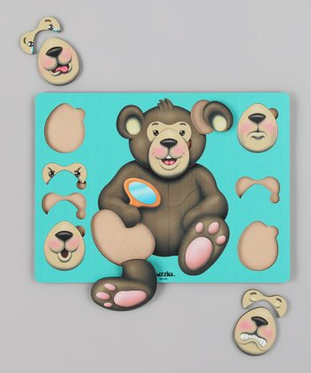American Educational Products Bear Expressions Puzzle