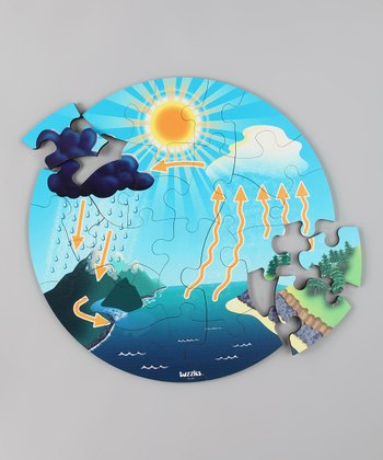 American Educational Products Water Cycle Floor Puzzle