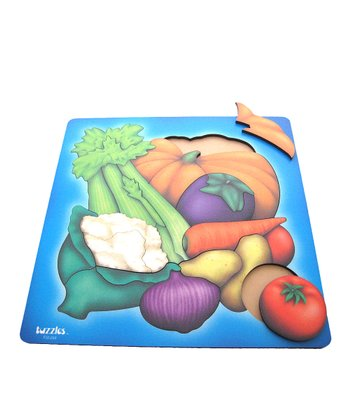 American Educational Products Vegetable Wooden Puzzle