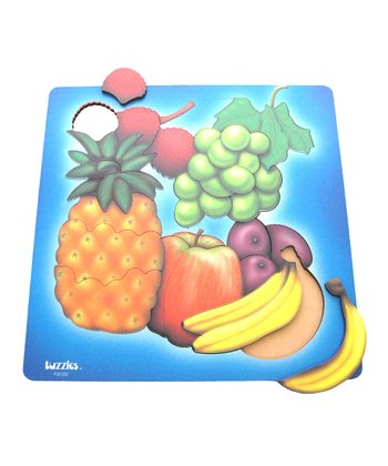 American Educational Products Fruit Wooden Puzzle