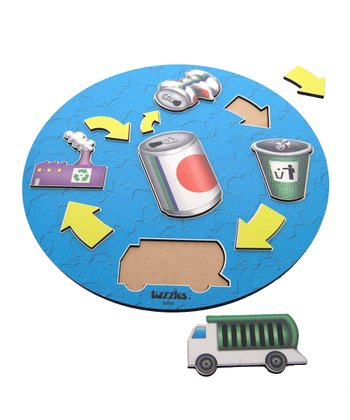 American Educational Products Recycling Wooden Puzzle