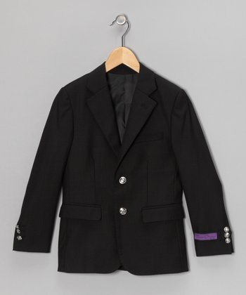 Black Blazer - Toddler & Boys