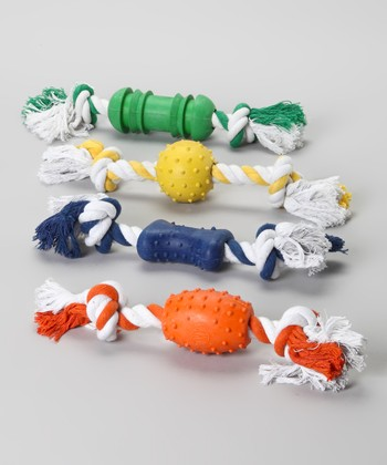 Double-Play Chew Toy Set