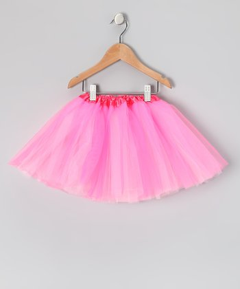 Hot Pink & Light Pink Reversible Tutu