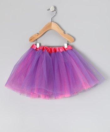 Hot Pink & Purple Reversible Tutu