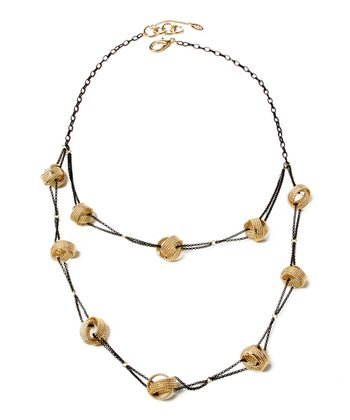 Gold Centehue Necklace