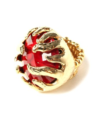 Ruby Wisteria Stretch Ring