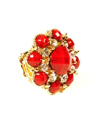 Ruby Georgica Stretch Ring