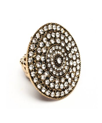 Antique Gold Kimora Stretch Ring