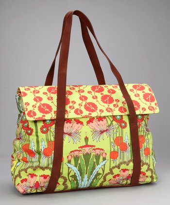 Fuchsia Tree Tomato Harmony Organic Laptop Bag