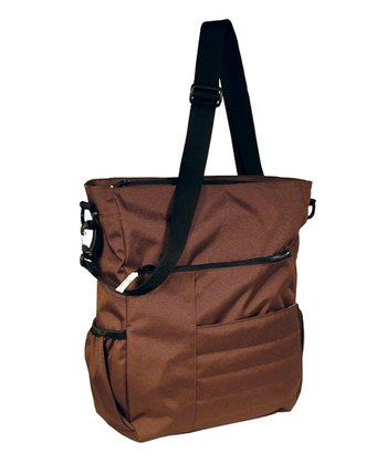 Chocolate Madison Avenue Diaper Bag