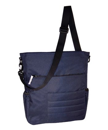 Navy Madison Avenue Diaper Bag