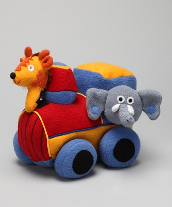 Travel Friends Locomotive Plush Toy