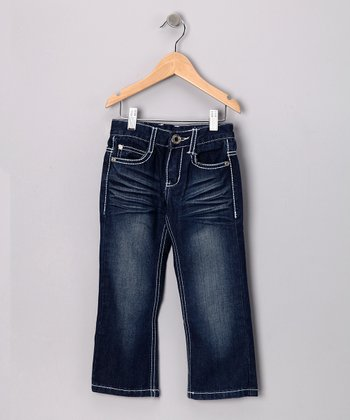 Medium Wash Bootcut Jeans - Toddler & Boys